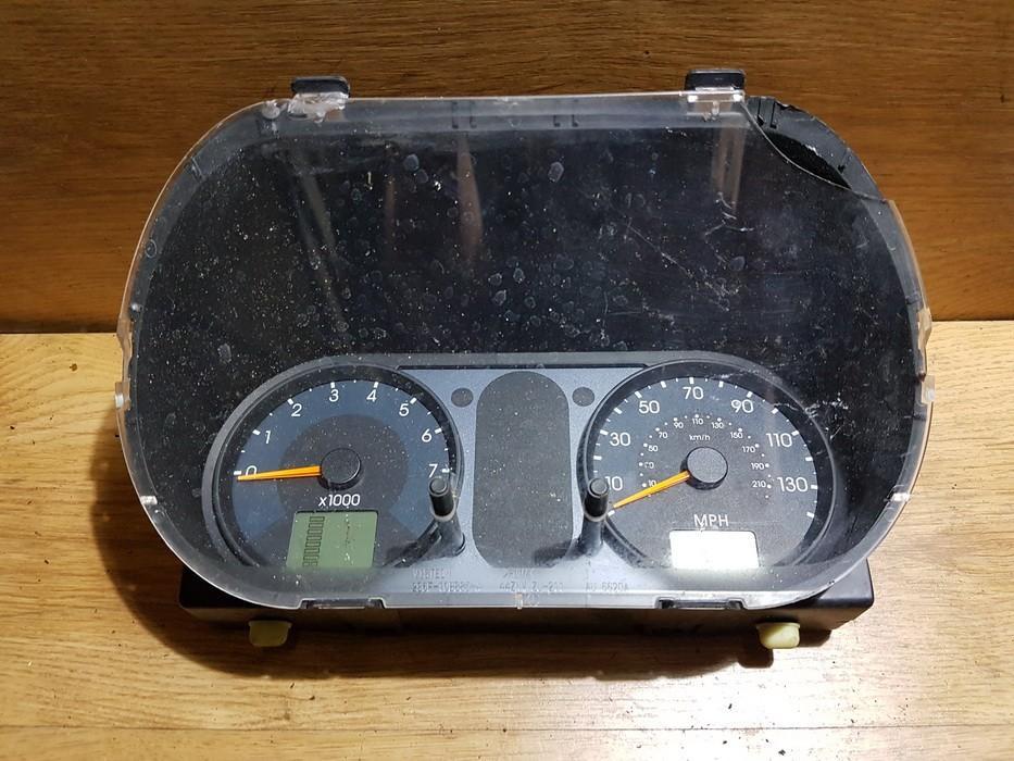 Spidometras - prietaisu skydelis 2s6f10849 nenustatyta Ford FIESTA 1998 1.2