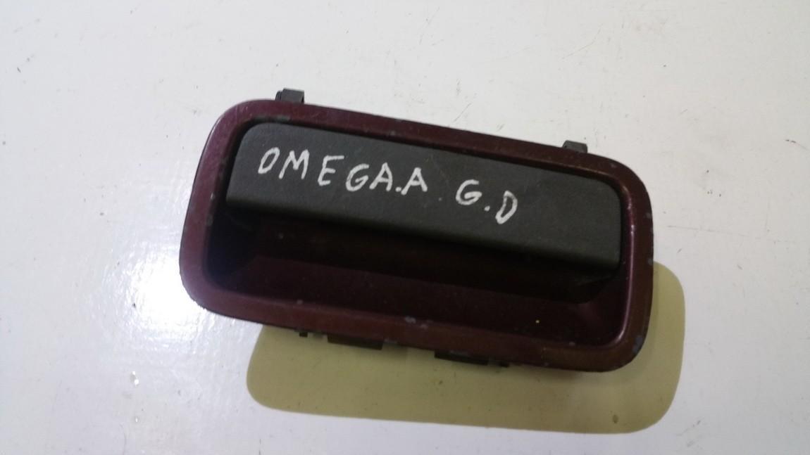 Door Handle Exterior, rear right side NENUSTATYTA n/a Opel OMEGA 1994 2.0