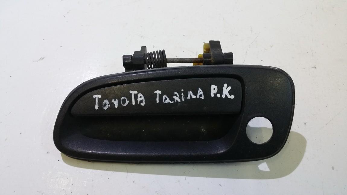 Ручка двери нaружная передний левый 6922005010 69220-05010 Toyota CARINA 1994 1.6