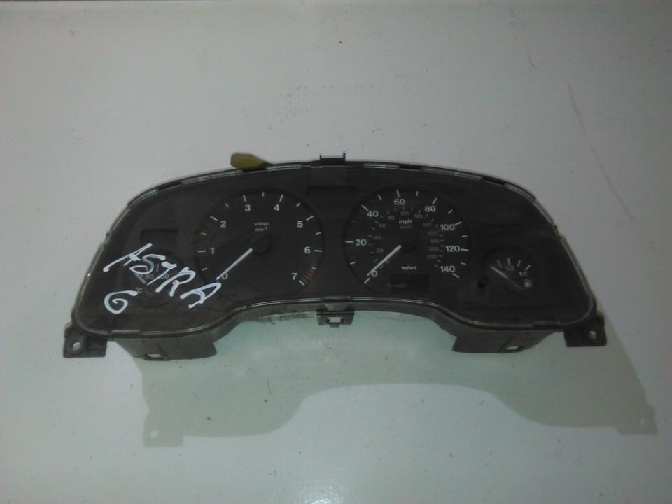 Spidometras - prietaisu skydelis 09228754ec 110008830023 Opel ASTRA 2002 1.7