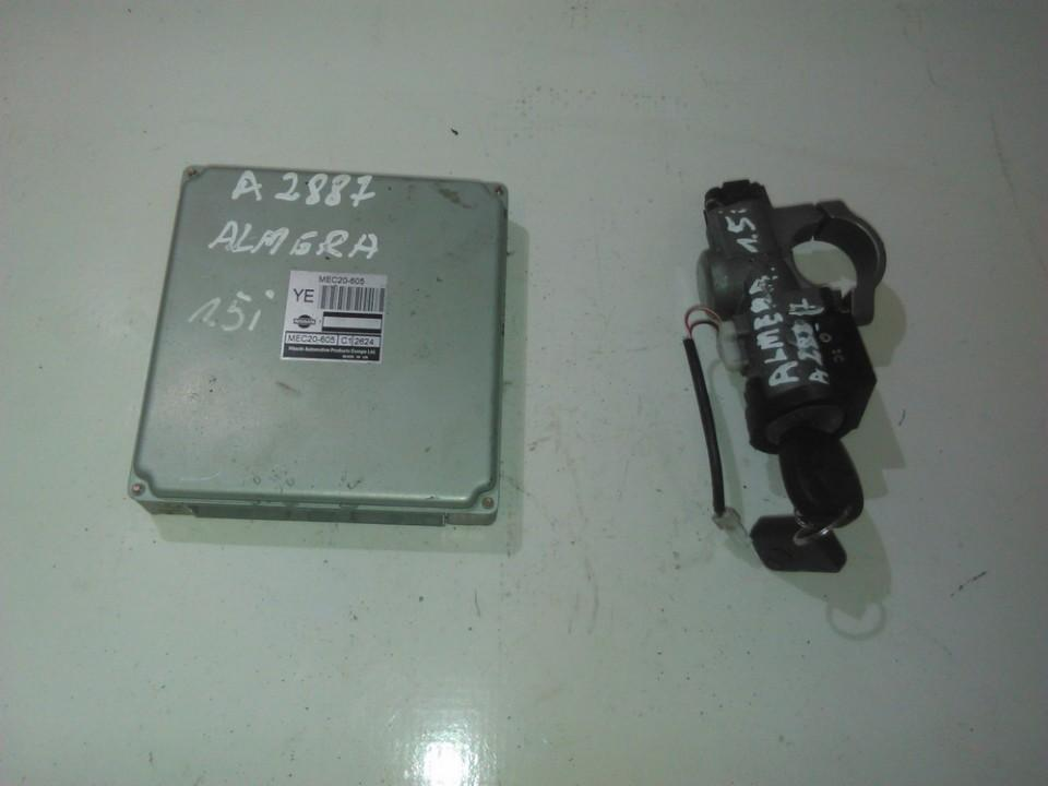 Engine Management Ecu Kit Nissan Almera 2002    1.5 mec20605