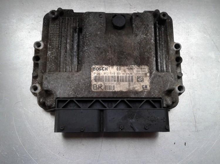 Variklio kompiuteris 0281012549 55198922 Opel ASTRA 1996 1.7