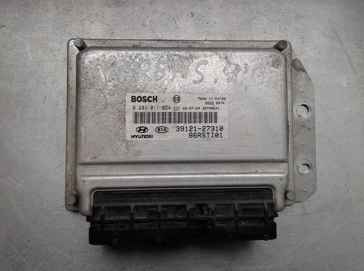 ECU Engine Computer  Kia  Carens, 2002.07 - 2006.09