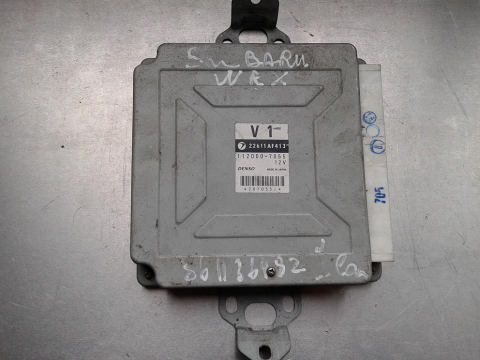 ECU Engine Computer (Engine Control Unit) 22611AF4132 112000-7055 Subaru IMPREZA 2004 2.0