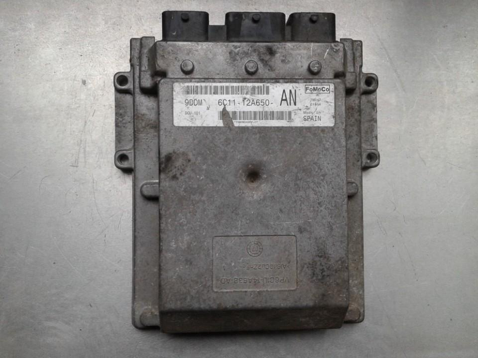 Variklio kompiuteris 6C1112A650AN NENUSTATYTA Ford TRANSIT 1991 2.5
