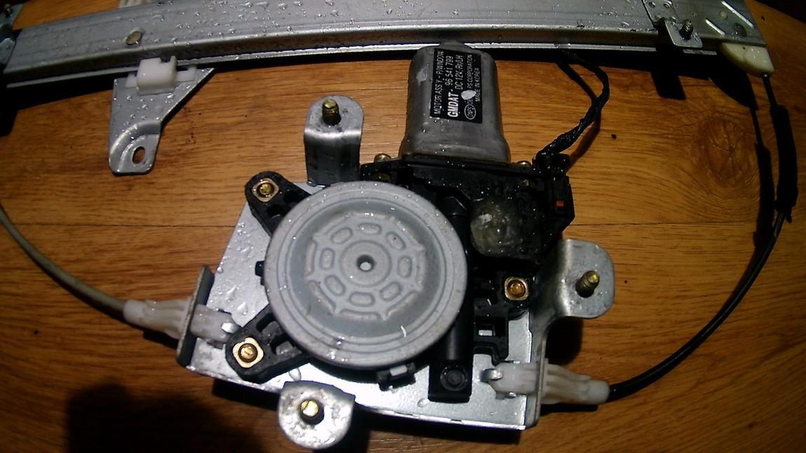 Duru lango pakelejo varikliukas G.K. 96541799 NENUSTATYTA Chevrolet KALOS 2006 1.2