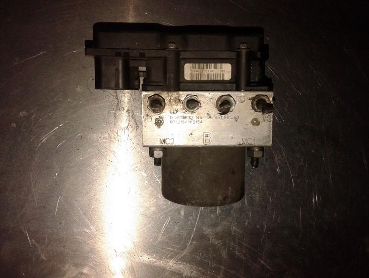 ABS Unit (ABS Brake Pump) 0265232146 9665196580, 0265800738, 79212 M0880, 79212M0880 Citroen BERLINGO 2003 2.0
