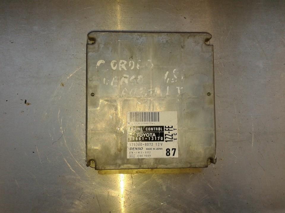 Variklio kompiuteris 8966113170 175200-8072 Toyota COROLLA VERSO 2005 1.8