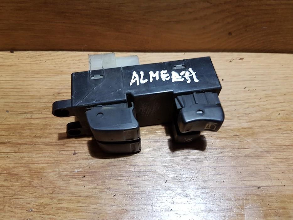 Power window control (Window Regulator-Window Switch) NENUSTATYTA NENUSTATYTA Nissan ALMERA 2000 2.0