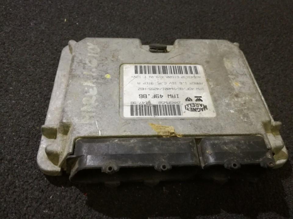 Variklio kompiuteris 465431326160041901F IAW 49F.B6 ; 49F.B6/HW001/4255-HBZ Fiat MAREA 1996 1.8