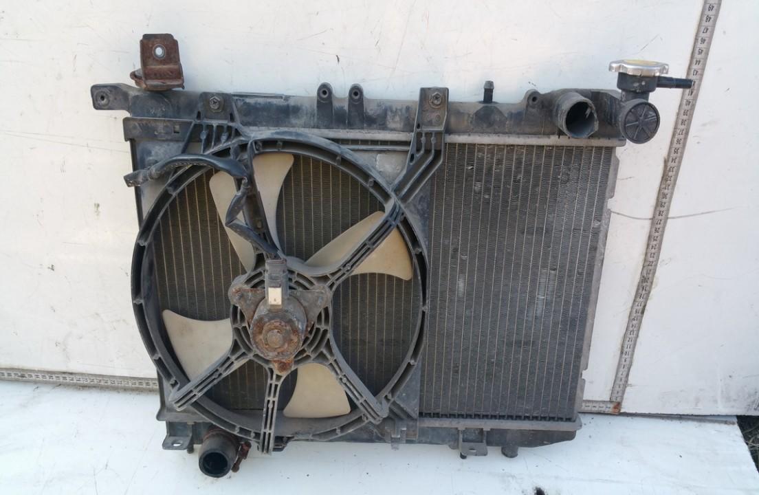 Difuzorius (radiatoriaus ventiliatorius) NENUSTATYTA n/a Nissan ALMERA 2003 1.5