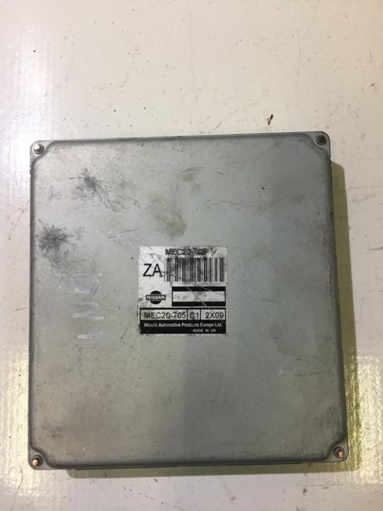 Variklio kompiuteris MEC20705 C1 2X09 Nissan ALMERA TINO 2004 1.8