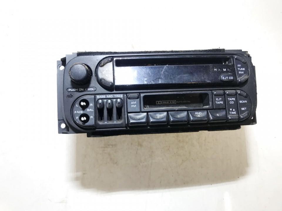 Automagnetola p04858540ae NENUSTATYTA Chrysler CONCORD 1999 3.5