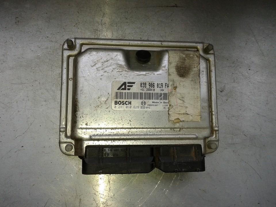 ECU Engine Computer  038906019FA 0281010629 Ford GALAXY 1996 2.0