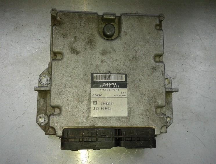 Блок управления двигателем 8973521855 275800-2253 Opel VECTRA 2006 1.9