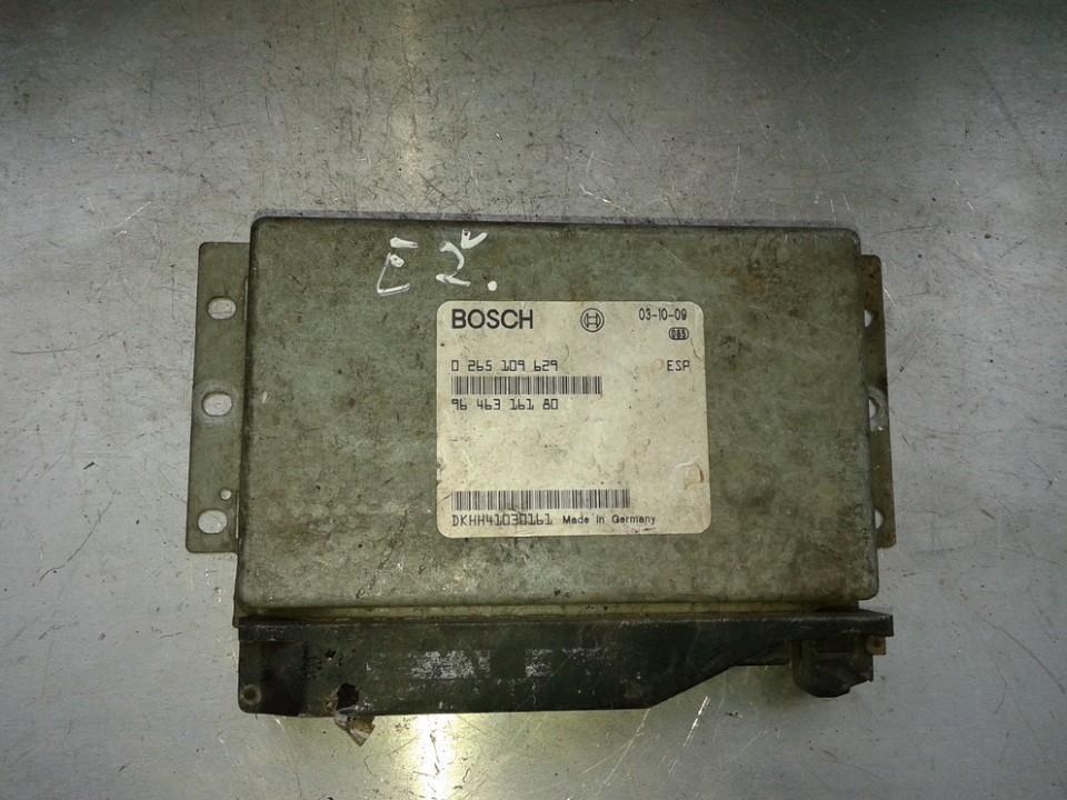 Variklio kompiuteris 0265109629 9646316180 Peugeot 607 2007 2.7
