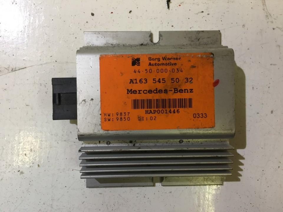 Other computers A1635455032 HAP001446 Mercedes-Benz ML-CLASS 2002 2.7