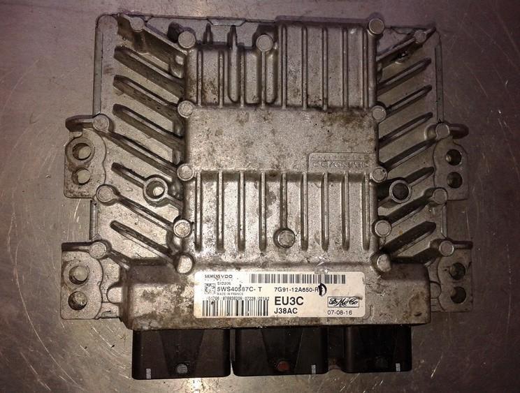 ECU Engine Computer (Engine Control Unit) 5WS40587CT 5WS40587C-T, 7G91-12A650-RC Ford GALAXY 1996 2.0