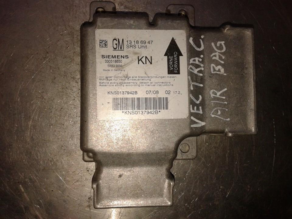 Блок управления AIR BAG  330518650 13186947, 5WK43656 Opel VECTRA 2006 1.9