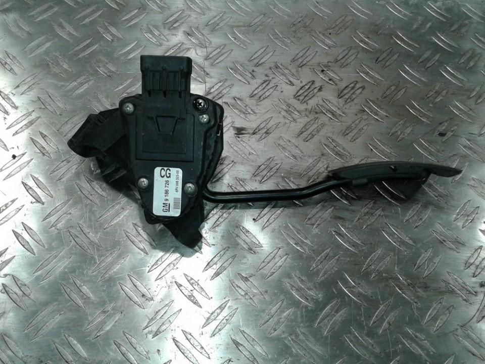 Accelerator Pedal (potentiometer) GM9186726CG 6PV008323-00 Opel VECTRA 2006 1.9