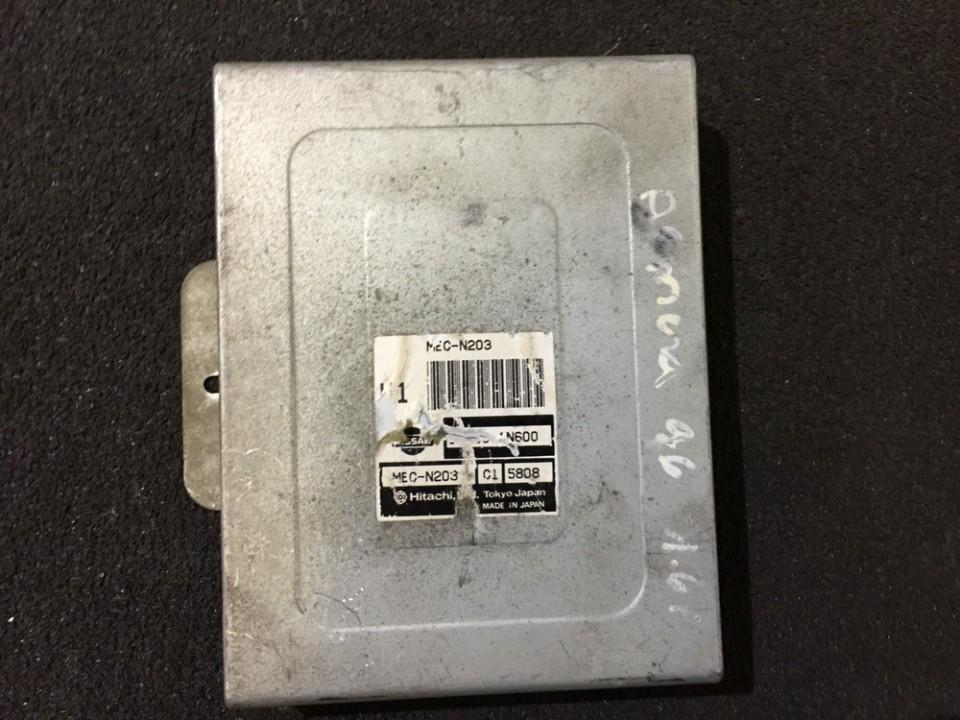 Variklio kompiuteris Nissan  Almera, N15 1995.07 - 1998.06