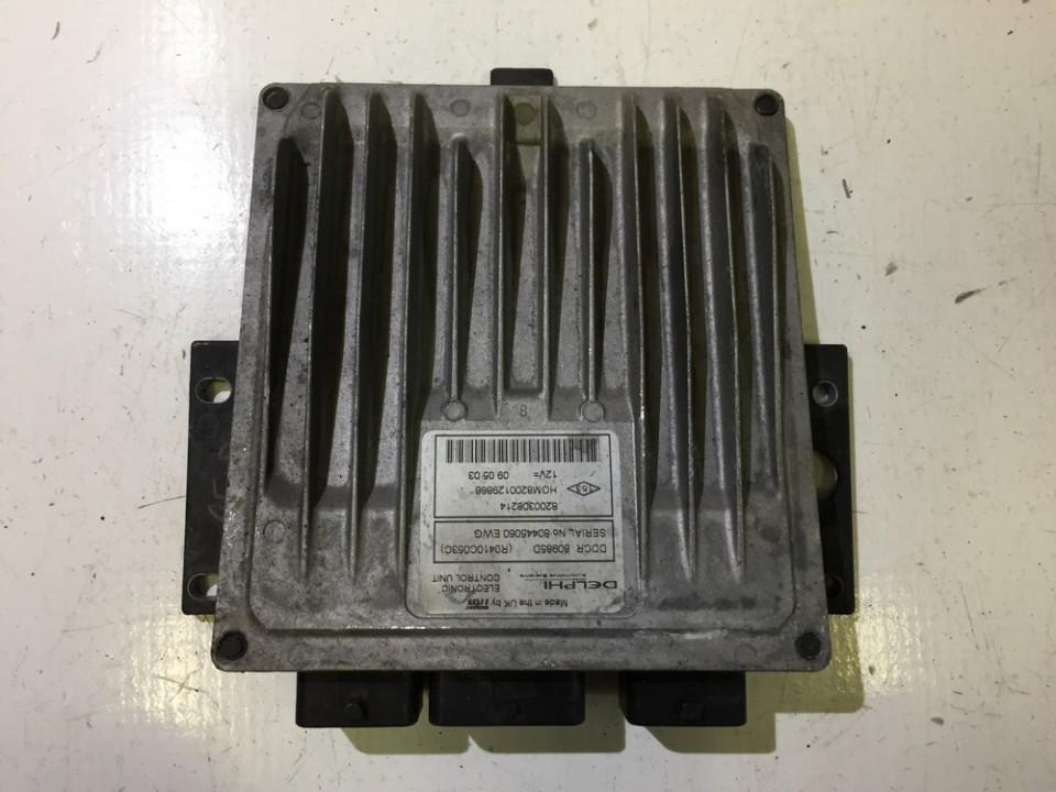 Variklio kompiuteris 8200308214 HOM8200129866 Nissan ALMERA 1997 2.0