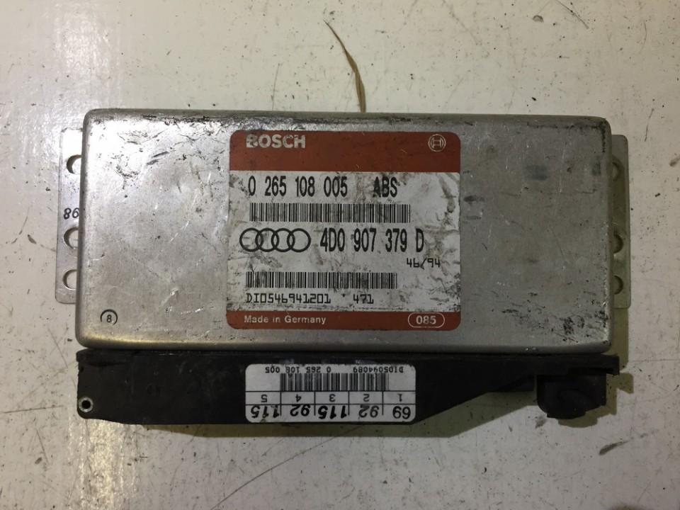 ABS kompiuteris 0265108005 4d0907379d Audi A6 2005 3.0