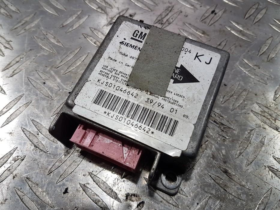 Airbag crash sensors module 90491004kj 5wk4087 Opel OMEGA 1996 2.0