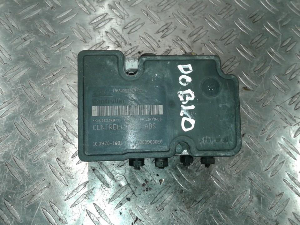 ABS Unit 10.02070027.4 51725050BE, 10.0207-0027.4, 10.0970-1601.3, 10.09701601.3, 00009000E0 Fiat DOBLO 2007 1.3