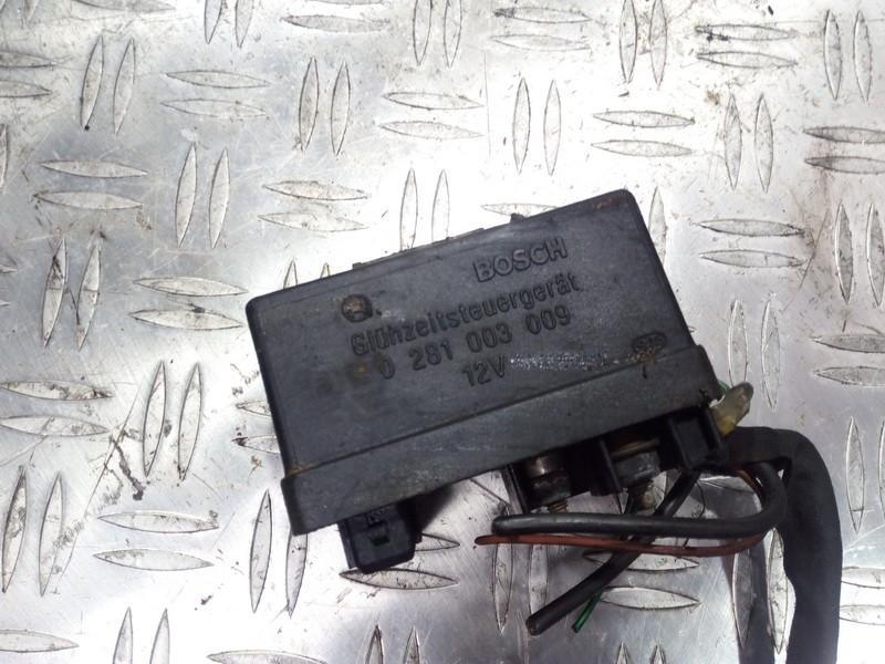 Glow plug relay Peugeot 206 1999    1.9 0281003009