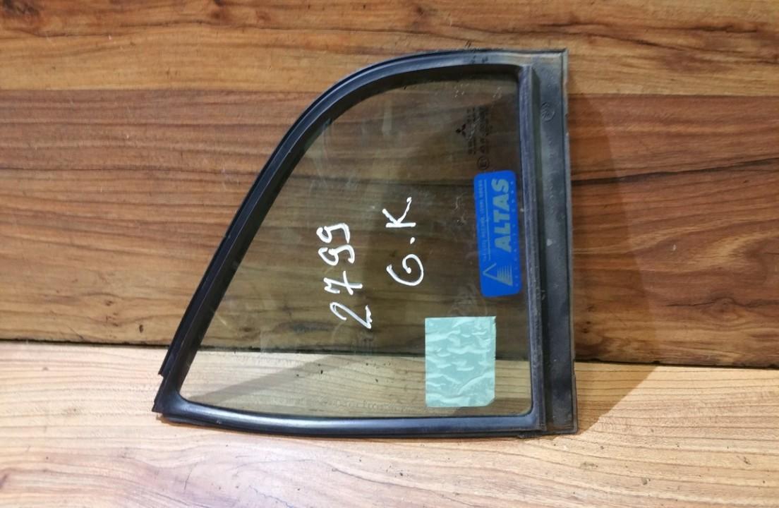 Quarter glass - rear left side NENUSTATYTA n/a Mitsubishi CARISMA 1996 1.6
