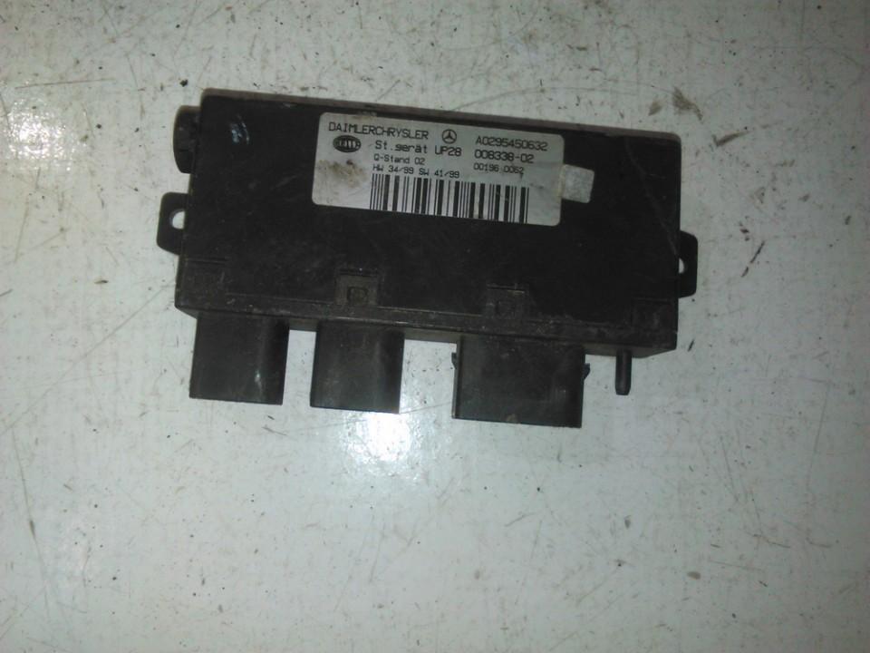 Kiti kompiuteriai a0295450632 008338-02 Mercedes-Benz CLK-CLASS 2000 2.3