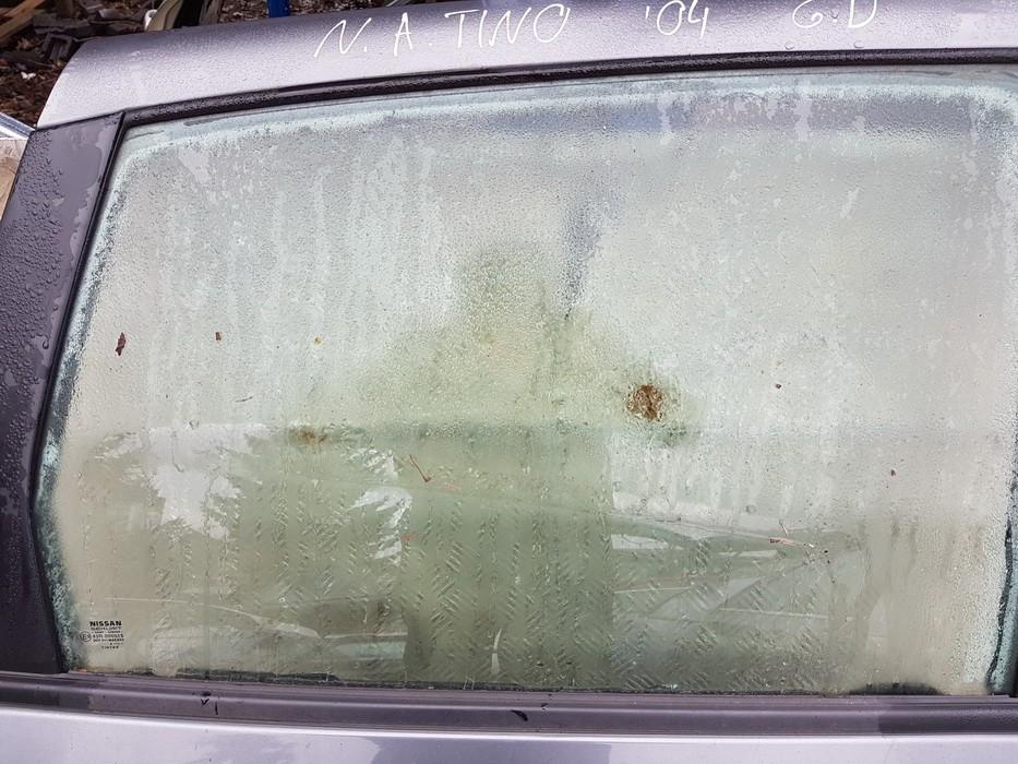 Door-Drop Glass rear right NENUSTATYTA nenustatyta Nissan ALMERA TINO 2002 2.2
