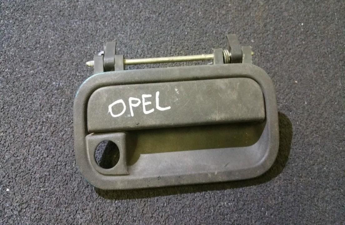 Ручка двери нaружная передний правый gm712 n/a Opel ASTRA 1994 1.7