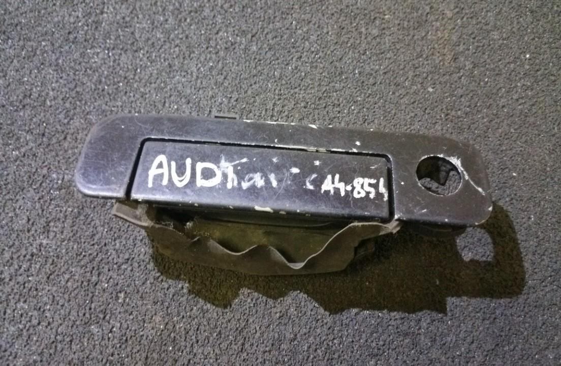 Door Handle Exterior, front left side 4a0837205 n/a Audi 100 1985 2.0