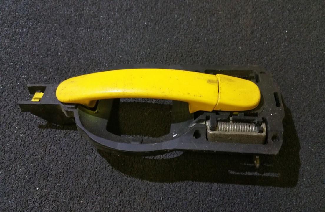 Ручка двери нaружная задний правый NENUSTATYTA n/a Audi A2 2002 1.4