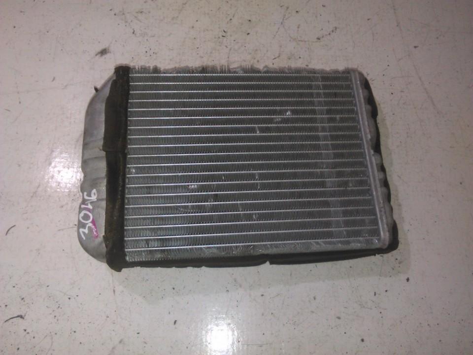 Heater radiator (heater matrix) nenustatytas nenustatytas Opel VECTRA 2006 1.9