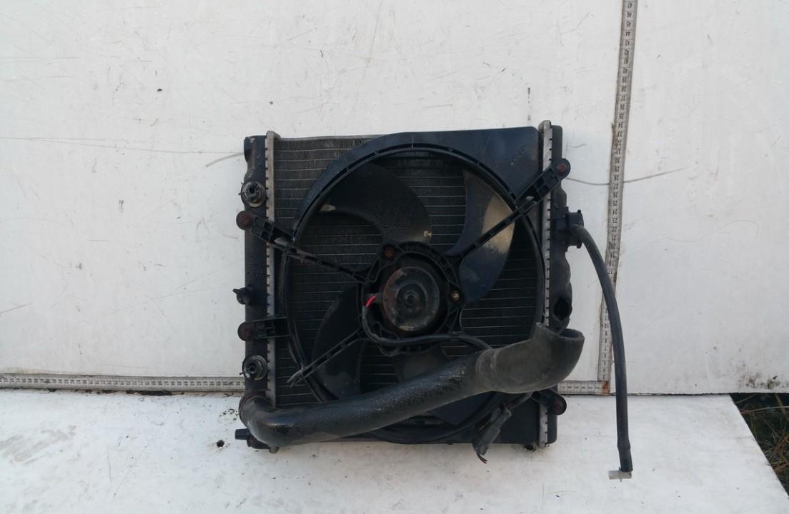 Vandens radiatorius (ausinimo radiatorius) NENUSTATYTA n/a Honda CIVIC 2002 1.7