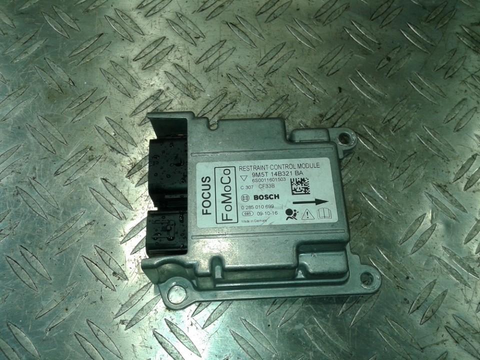 Блок управления AIR BAG  9M5T14B321BA 9M5T 14B321 BA, 6S0011601503, 0285010699,9M5T 14B321 BA, 1-1418403-0, 114184030 Ford FOCUS 1999 1.8