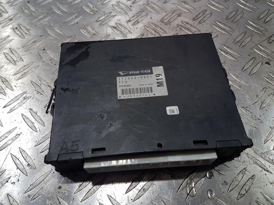Variklio kompiuteris 8956097438 1120009401 Daihatsu SIRION 2001 1.3