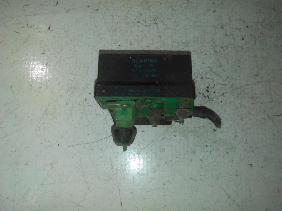 Glow plug relay Peugeot 406 1999    1.9 9619039780