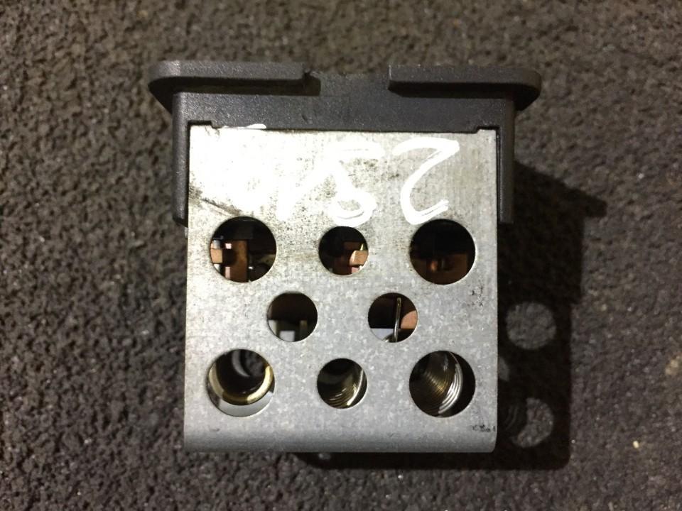 Heater Resistor (Heater Blower Motor Resistor) a1688200197 5399045190 Mercedes-Benz A-CLASS 1998 1.7