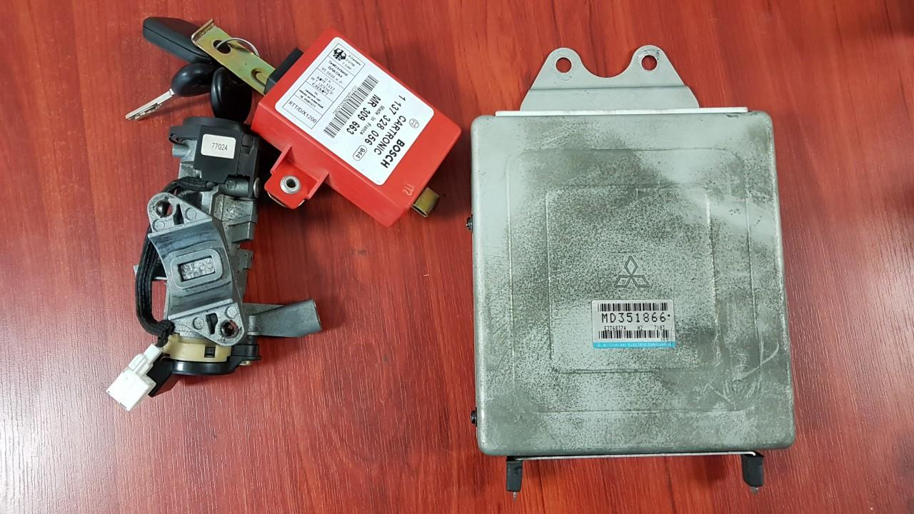 Engine Management Ecu Kit Mitsubishi Carisma 1997    1.8 MD351866