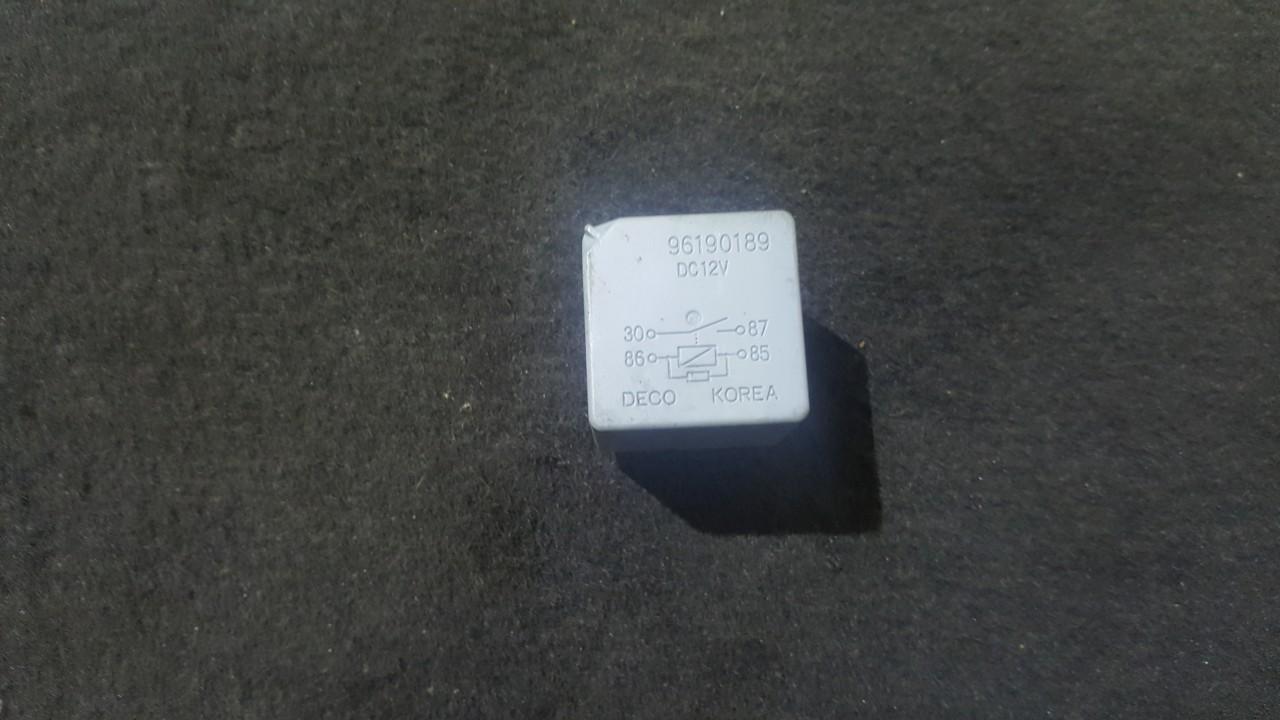 Rele 96190189 NENUSTATYTA Chevrolet LACETTI 2008 1.6