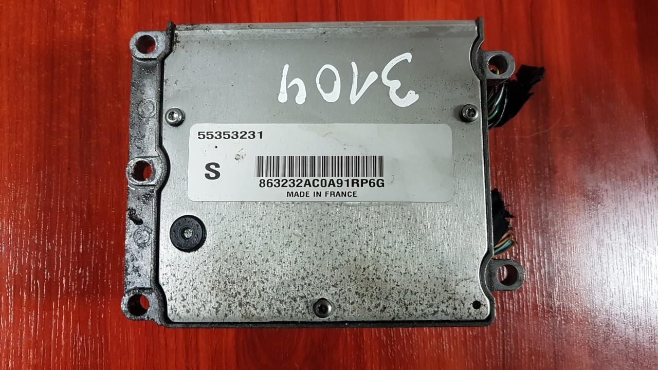 Variklio kompiuteris 55353231 nenustatyta SAAB 9-3 2001 2.2