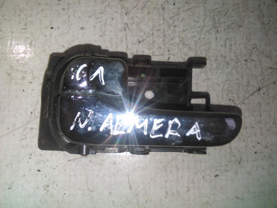 Door Handle Interior, Rear left nenustatytas nenustatytas Nissan ALMERA 1995 1.6