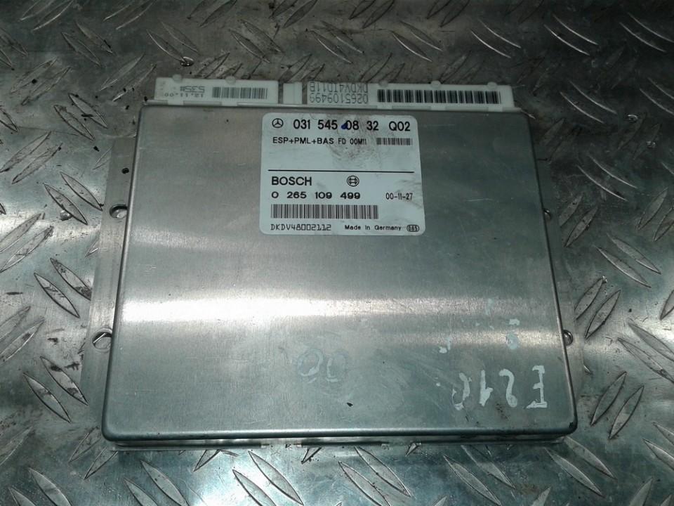 ESP PML BAS CONTROL UNIT ECU Mercedes-Benz E-CLASS 2000    2.2 0315450832