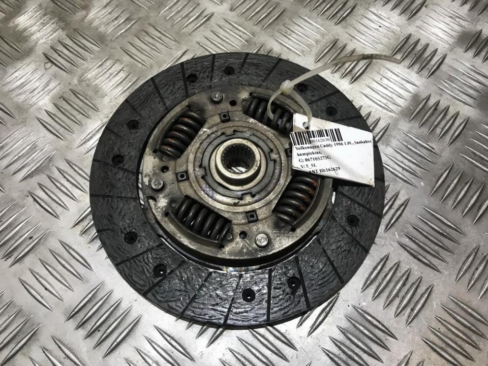 Sankabos diskas 067105273G NENUSTATYTA Volkswagen CADDY 1996 1.9