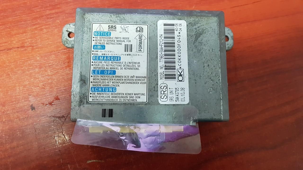 SRS Airbag kompiuteris 77960SWAF212M4 77960-SWA-F212-M4, 5WK43785 Honda CR-V 2003 2.0