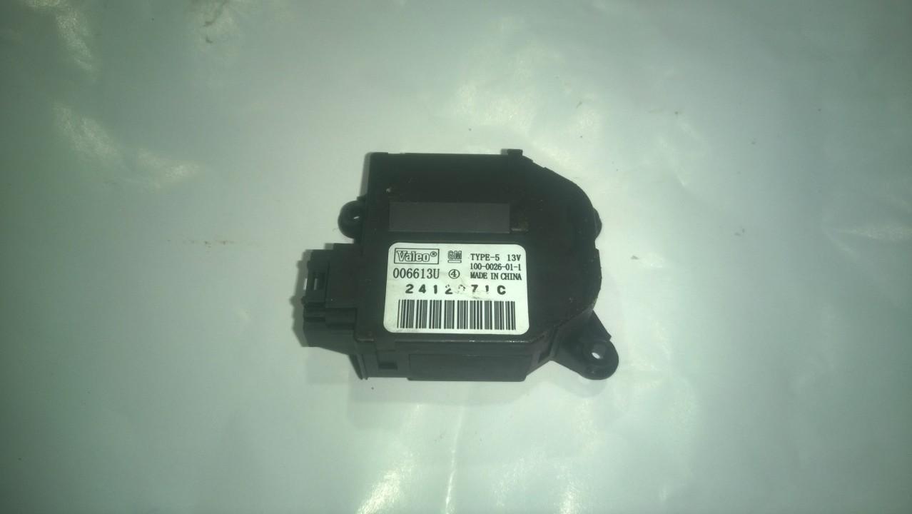 Peciuko sklendes varikliukas 006613U 2412071C, 1000026011 Opel VECTRA 2008 1.9